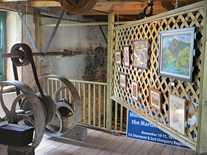 Art Displays in The Martintown Mill