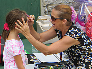 Face Painting at The Martintown Mill